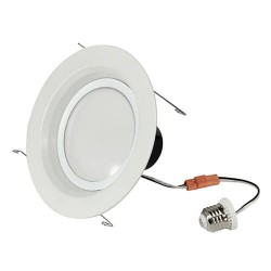 "12W LED 2700K 6"" DOWNLIGHT RETROFIT WHITE"